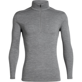 Icebreaker 260 Tech LS Half-Zip Top Men gritstone heather